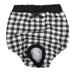 View Image 1 of Witty Dog Sanitary Pants by Puppia - Black