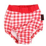 View Image 2 of Witty Dog Sanitary Pants by Puppia - Red