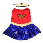 View Image 1 of Wonder Woman Dog Halloween Costume