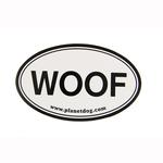 View Image 1 of Woof Euro Sticker by Planet Dog