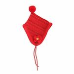 View Image 2 of Yuppie Dog Hat by Puppia - Red
