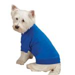 Zack & Zoey Basic Dog T-Shirt - Nautical Blue
