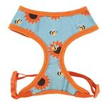 View Image 2 of Zack & Zoey Flutter Bugs Dog Harness - Bumble Bee
