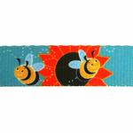 View Image 3 of Zack & Zoey Flutter Bugs Dog Leash - Bumble Bee