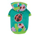 View Image 1 of Zack & Zoey Flutter Bugs Dog Pullover - Lady Bug