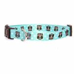 View Image 1 of Zack & Zoey Hoot and Howl Dog Collar