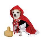 View Image 1 of Lil Red Riding Hood Dog Costume