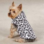 View Image 1 of Zack & Zoey Snow Leopard Dog Vest