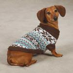 View Image 1 of Zack & Zoey Snow Lodge Dog Sweater