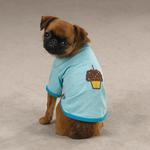 View Image 1 of Zack & Zoey Sweet Treats Dog T-Shirt - Cupcake