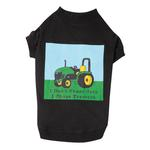 View Image 2 of Zack & Zoey Tractor T-Shirt - Black