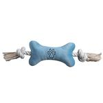 View Image 5 of Zanies Bone Tugger Toy - Blue