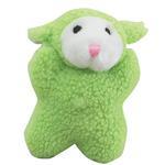 Zanies Cuddly Berber Babies - Green Lamb