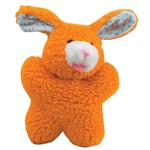 View Image 1 of Zanies Cuddly Berber Babies - Orange Bunny