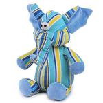 View Image 1 of Zanies Funky Trunks Dog Toy - Blue