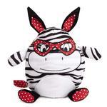 View Image 2 of Zanies Love Me Cuddle Buddies Dog Toy - Zebra