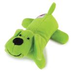 View Image 1 of Zanies Neon Lil' Yelpers Dog Toy - Glowing Green