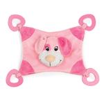 View Image 2 of Zanies Puppy Snuggler Toy - Pink
