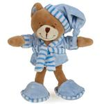 View Image 1 of Zanies Sleepy Teddies Dog Toy - Blue