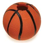 View Image 1 of Zanies Sport Star Ball Dog Toy - Basketball
