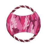 View Image 1 of Zanies Toughstructable Flyer Dog Toy - Pink