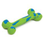 View Image 1 of Zanies Visibone Rubber Dog Toy - Parrot Green