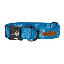 Eco-Lucks Christmas Collection Dog Collar - Frostbite