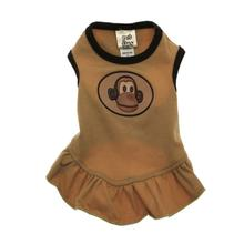 Uncle Monkey Dog Dress with Scented Patch