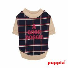 A Good Doggie Dog Shirt by Puppia - Navy