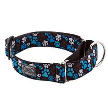 All Webbing Martingale Dog Training Collar - Pitter Patter Chocolate
