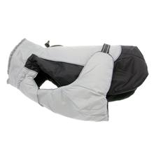 Alpine All-Weather Dog Coat - Black and Gray