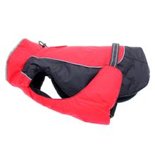 Alpine All-Weather Dog Coat - Red and Black - Disc. Style