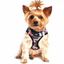 American River Camo Choke Free Dog Harness - Pink