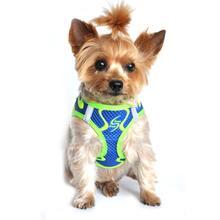 American River Neon Sport Choke-Free Dog Harness - Cobalt Blue
