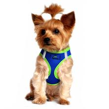 American River Top Stitch Dog Harness - Cobalt Blue
