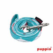 Argyle Dog Leash by Puppia - Aqua