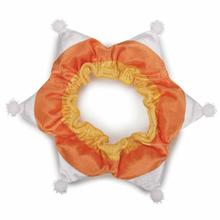 Aria Candy Corn Dog Scrunchy