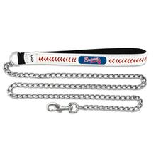 Atlanta Braves Leather Dog Leash