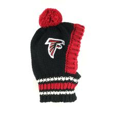 Atlanta Falcons Knit Dog Hat
