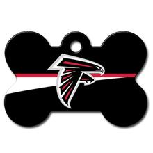 Atlanta Falcons Engravable Pet I.D. Tag - Bone