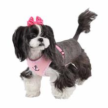Atticus Dog Harness by Puppia - Pink