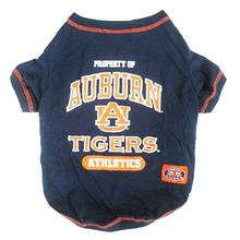 Auburn Tigers Dog T-Shirt - Navy