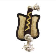 Aussie Naturals Lunch Dog Toy - Hot Dog