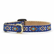 Aztec Blue Cat Collar by Up Country