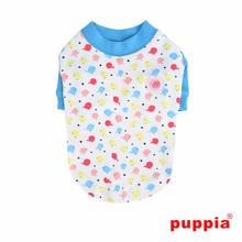 Baby Birds Dog Shirt by Puppia - Blue