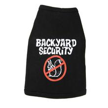Backyard Security Dog Tank Top - Black