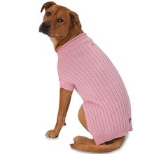 Barker's Basic Dog Sweater - Pink