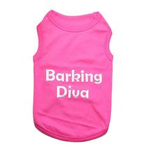 Barking Diva Dog Tank by Parisian Pet - Pink