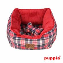 Barrington Dog Bed by Puppia - Red