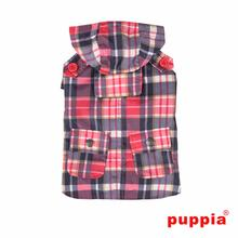 Barrington Dog Raincoat by Puppia - Red